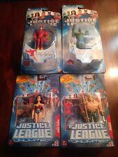 JUSTICE LEAGUE JLU LOT of 4 Wonder Woman, Aquaman, Flash & Martian Manhunter