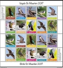 SINT MAARTEN ++ 2017 VOGELS BIRDS OISEAUX  MNH NEUF **
