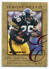 1997 Donruss Elite Gold 17 Jerome Bettis 1374/2000