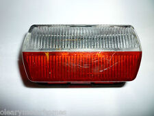 12V RED/CLEAR SIDE MARKER LIGHT MOTORHOME CARAVAN CAMPER L E PEREI