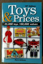 19th Edition TOYS & PRICES collectors and toy values book printed 2013