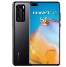 "HUAWEI P40 5G 128GB ROM 8 GB RAM DISPLAY 6.1"" DUAL SIM BLACK No Servizi Google"