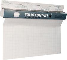 Folio Contact Flipchart Folie kariert 60x80cm 25 Blatt elektrostatisch haftend