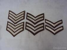 PAIR of British Military Army FAD Chevrons / Service Stripes, Sgt, Cpl, L/Cpl