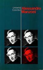 Libro - Alessandro Manzoni – Colombo Umberto