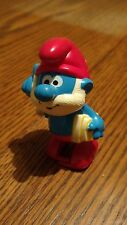 PAPA SMURF WIND-UP TOY GALOOB 1982