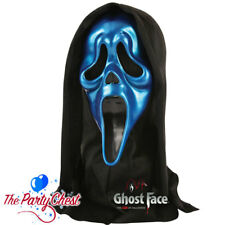 OFFICIAL SCREAM METALLIC GHOST FACE MASK Coloured Halloween Horror Mask 1527