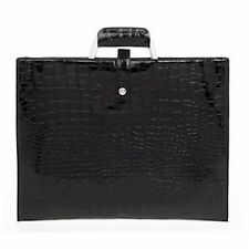 Equilibrium Black Mock Crock iPad Bag