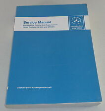 Workshop Manual Mercedes Benz Diesel Motor OM 636 + OM 621 PKW Boot Unimog