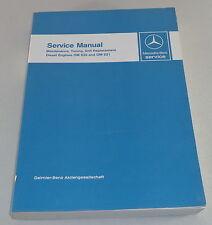 Workshop Manual Mercedes Benz Diesel Motor OM 636 + OM 621 PKW Boot Unimog