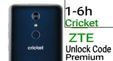 Unlock Code Cricket ZTE Z965 Z851 Z852 Z832  Z983 Z813 Z815  Z956 Z959 Z988