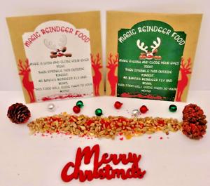 Magic Reindeer Food *Wildlife Friendly* Santa Dust Christmas Xmas Eve Box Filler
