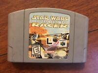 Star Wars Episode 1 Racer N64 (Nintendo 64 1999) Tested WORKS