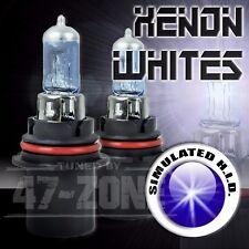 2x Pilot 9004 HB1 12v Xenon White High Low Beam Replacement Headlight Lamp Bulbs