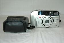 Konica Minolta Freedom Fun Zoom Film 35mm Camera with Case Lithium 3V battery.