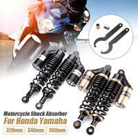 "2pcs 320mm 12.5"" Rear Shock Air Absorbers Gas Suspension For Honda Yamaha Suzuki"