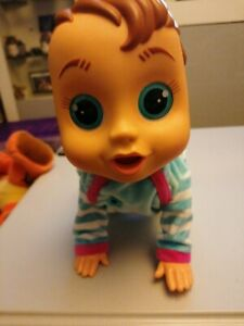 IMC Toys   Baby Wow Crawl & Play Charlie   Interactive Voice Activated Doll Toy