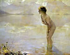 September Morn by Paul Chabas. Fine Art Repro Made in U.S.A Giclee Prints