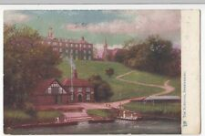 Shrewsbury; The Schools PPC Tuck Oilette 1923 PMK To Miss Jakeman, Weymouth