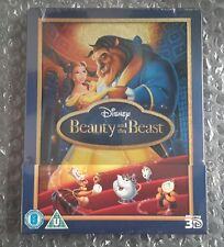 BEAUTY AND THE BEAST STEELBOOK [OOP/NEW/3D+2D] [2014 First Release] UK Import