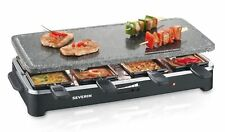 Raclette Grill with Stone Surface Non-Pans Novelty W 8 Mini-Stick 1500