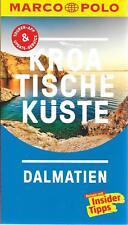 Kroatische Küste Dalmatien Zadar Marco Polo Reiseführer & Extra-Faltkarte 2018