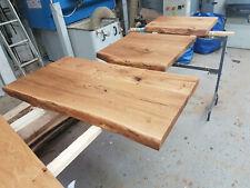 Waschtisch Eiche Holz Badezimmer Baumkante Aufsatzbecken Waschtischplatte geölt