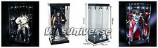 "2 Acrylic MB-1 LED Lighted Display Case Box for 12"" 1/6th Scale Hot Toys Figures"
