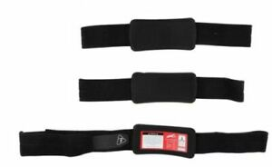 Leatt Z-Frame Knee Brace Replacement Parts Black Large - X-Large Strap Kit Pair