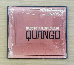 QUANGO - MUSIC FOR A GLOBAL CULTURE CD - RARE PROMO - TOSCA JAZZANOWA AKASHA VGC