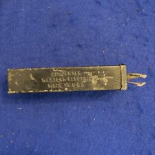 Western Electric 89F .5 MF Condenser / Capacitor for tube amp USED - SEE PICS