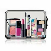 Transparent Cosmetic Case Clear Plastic PVC Travel Zipper Make Up Toiletry Bag