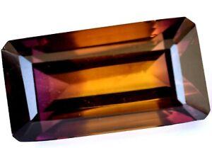 Untreated Natural Bi-Color Ametrine 17.65 CT Certified Bolivia AAA+ Gemstone