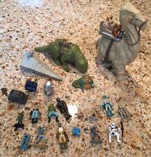 Star Wars Micro Machines Lot Dewback Figures Ship