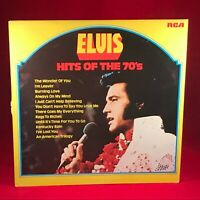 ELVIS PRESLEY  Hits Of The 70's - 1974 French issue VINYL LP EXCELLENT CONDITION