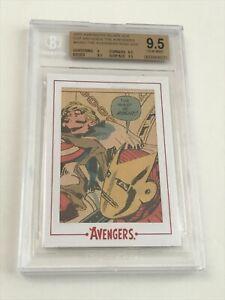 2015 Avengers #4 Silver Age ARCHIVES CUT Original Comic Book Art Panel BGS 9.5