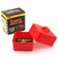 The Magical Candy Box (RED) Magician's Sweet Candies Production Pan Magic Trick