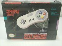 SNES Super Nintendo Superpad Controller CIB Complete Mint