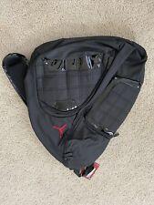 Nike Air Jordan Sling Backpack LapTop Storage School Gym Bag Black 9A1113 023