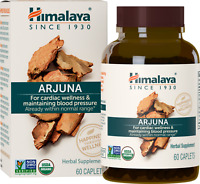 Himalaya Organic Arjuna For Cardiac Wellness 60 Caplets