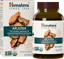 Himalaya Organic Arjuna For Cardiac Wellness 60 Caplets