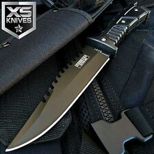 "10"" MILITARY Fixed Blade SURVIVAL FULL TANG Hunting Knife W/ SHEATH COMBAT BOWIE"