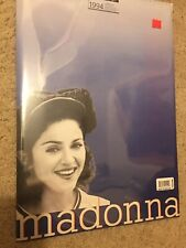 Vintage 1994 Madonna Calendar By Culture Shock from England NEW/SEALED