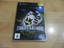 NRL RUGBY LEAGUE  (XBOX GAME)