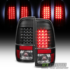 Blk 1997 2003 Ford F150 1999 2007 F250 F350 F450 Superduty Led Tail Lights