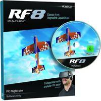 Sealed DVD!!  Great Planes RealFlight RF 8 Flight Simulator Software Only