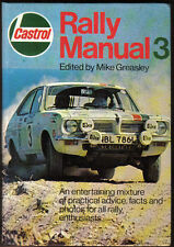 Castrol Rally Manual No. 3 1974  Practical advice, car specs, drivers, results +