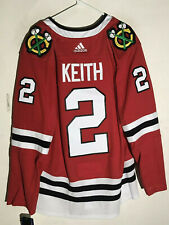adidas Authentic Adizero NHL Jersey Chicago Blackhawks Duncan Keith Red sz 54