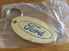 Gold Ford Keyring Plated with 22ct - Oxford Range - Made in England