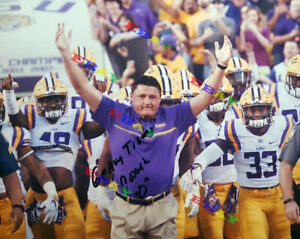 Ed Orgeron LSU Tigers Head Coach Autographed Signed 8x10 Photo Reprint